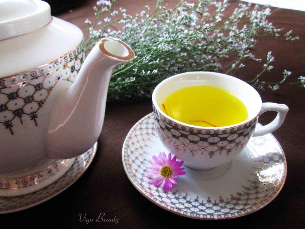 Trà saffron - Nhụy hoa nghệ tây, trị chứng khó ngủ, ngủ không sâu