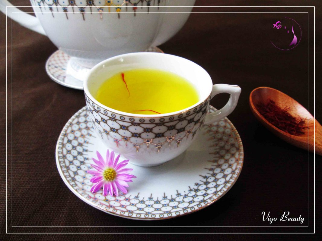 Trà saffron có nhiều thành phần tốt cho sức khỏe - Vigo Beauty - Saffron Đà Nẵng