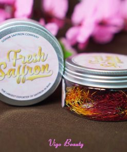 Fresh saffron saffron tươi