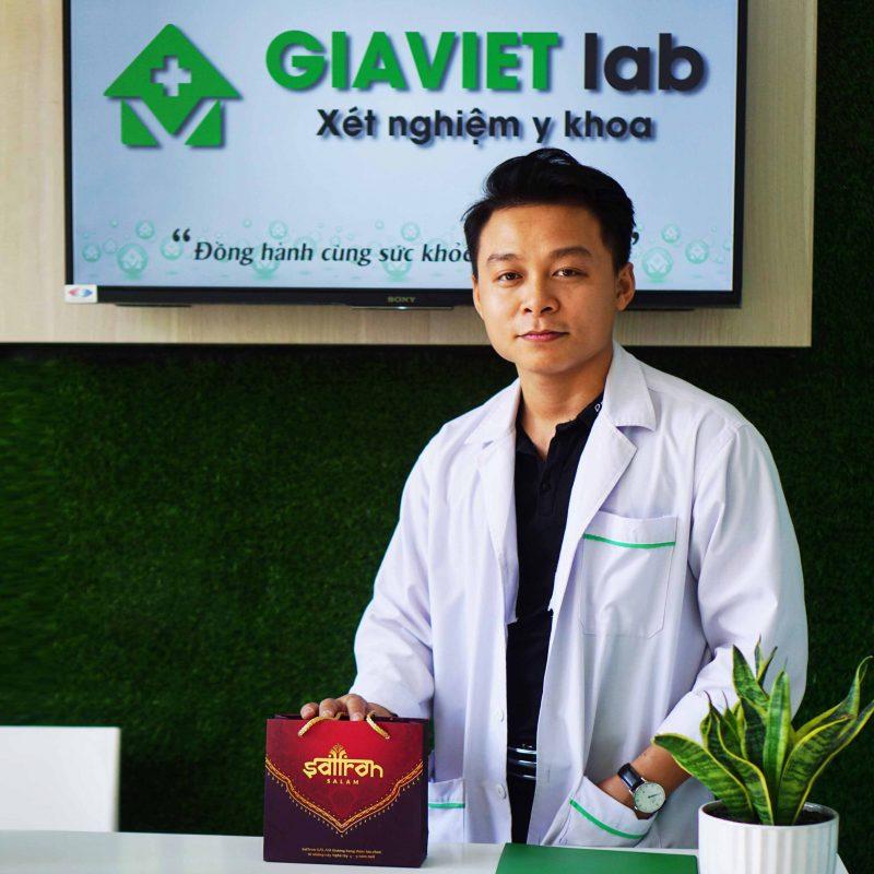 CEO Gia Việt Lab cùng Saffron Salam