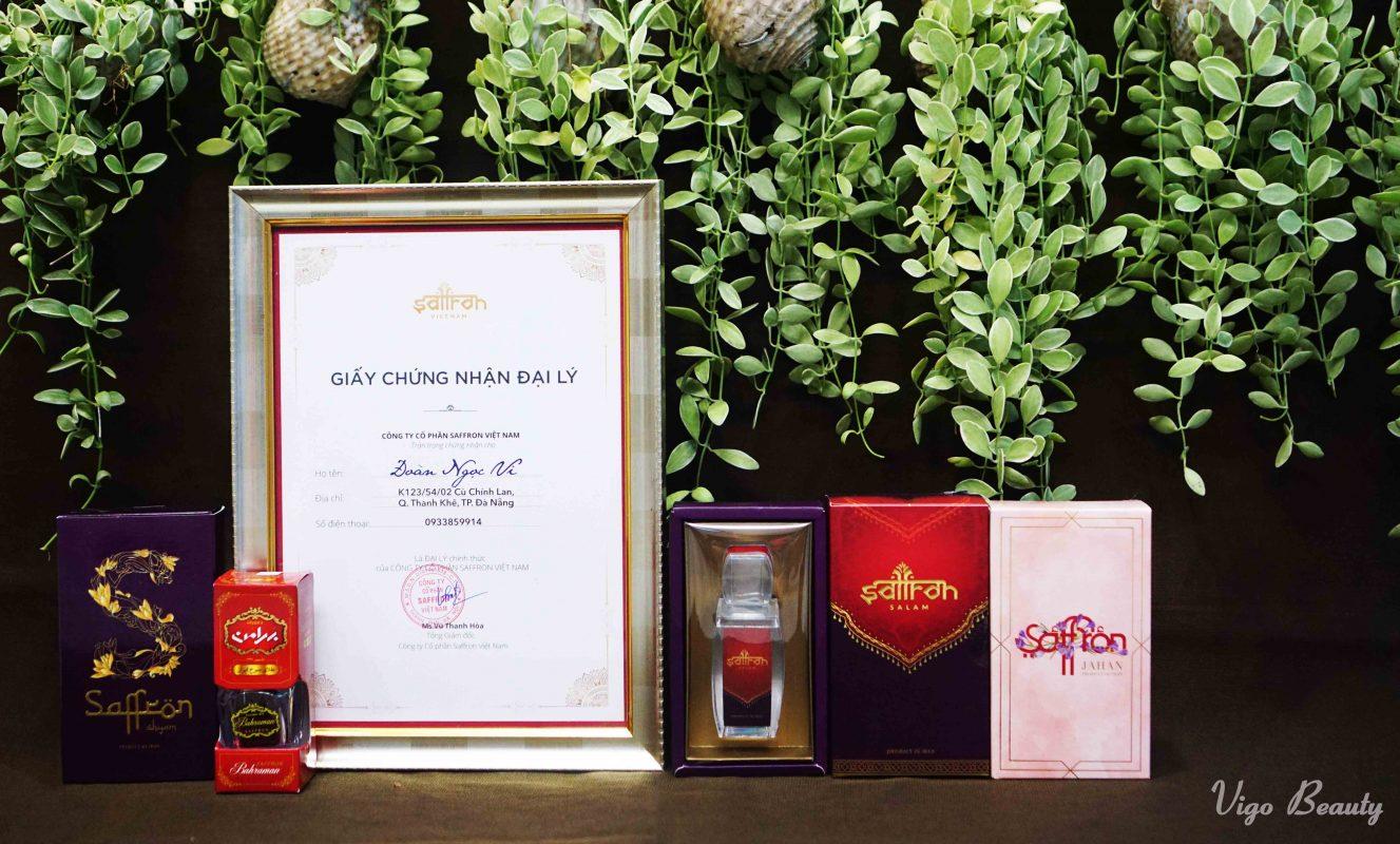 Shop Nhụy hoa nghệ tây uy tín tại Đà Nẵng - Vigo Beauty
