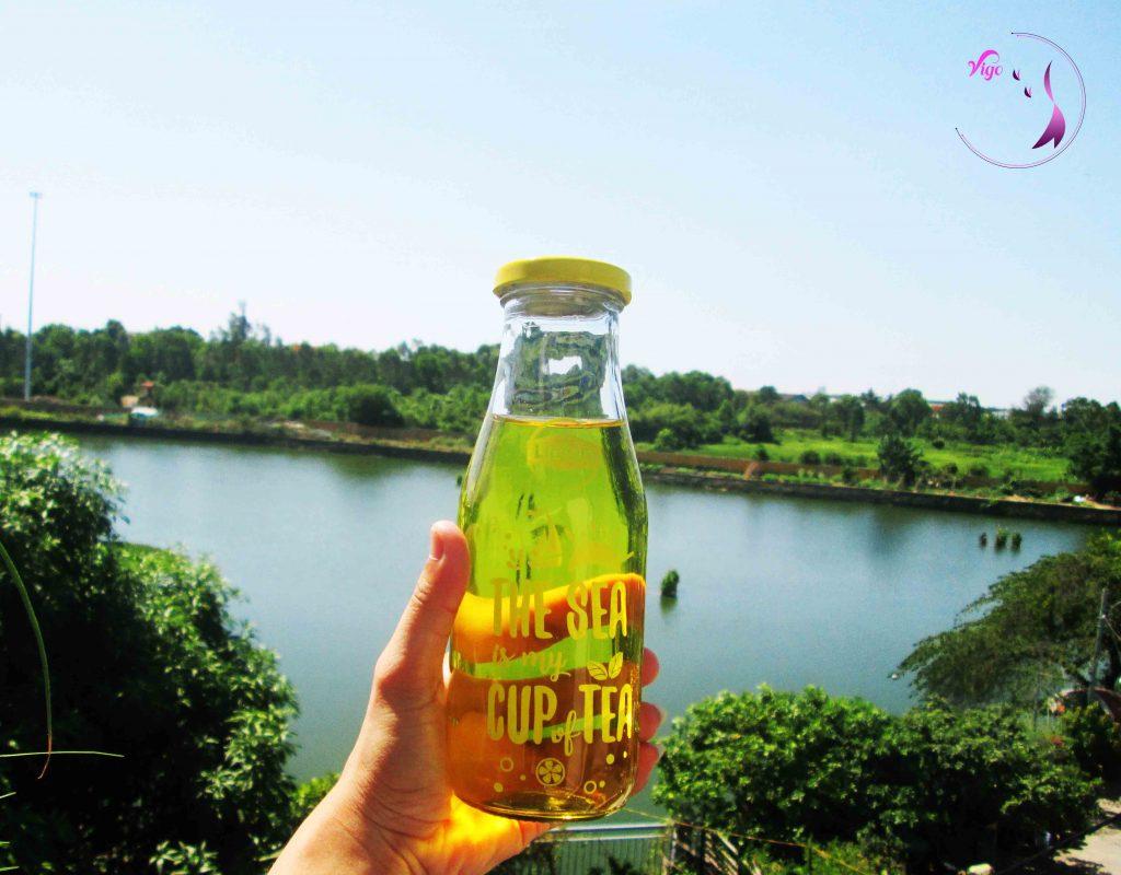 Uống một chai Saffron vào những ngày hè nóng bức giúp giải nhiệt cơ thể
