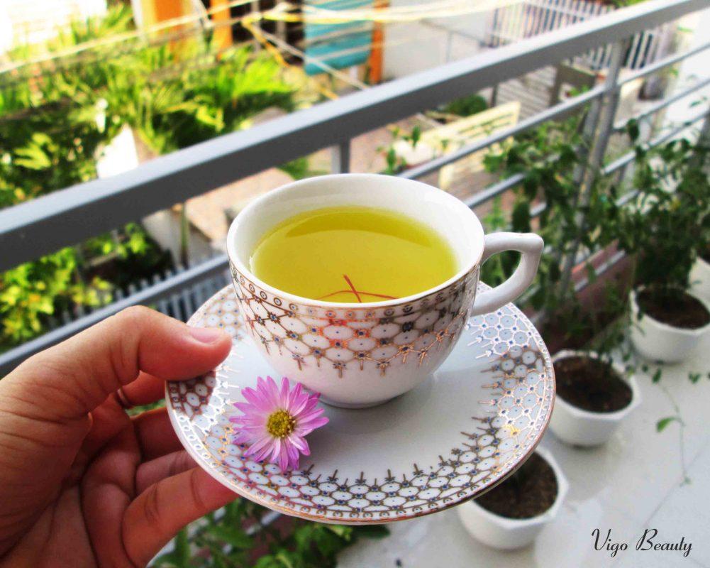 Một tách trà Saffron bổ dưỡng và thanh đạm