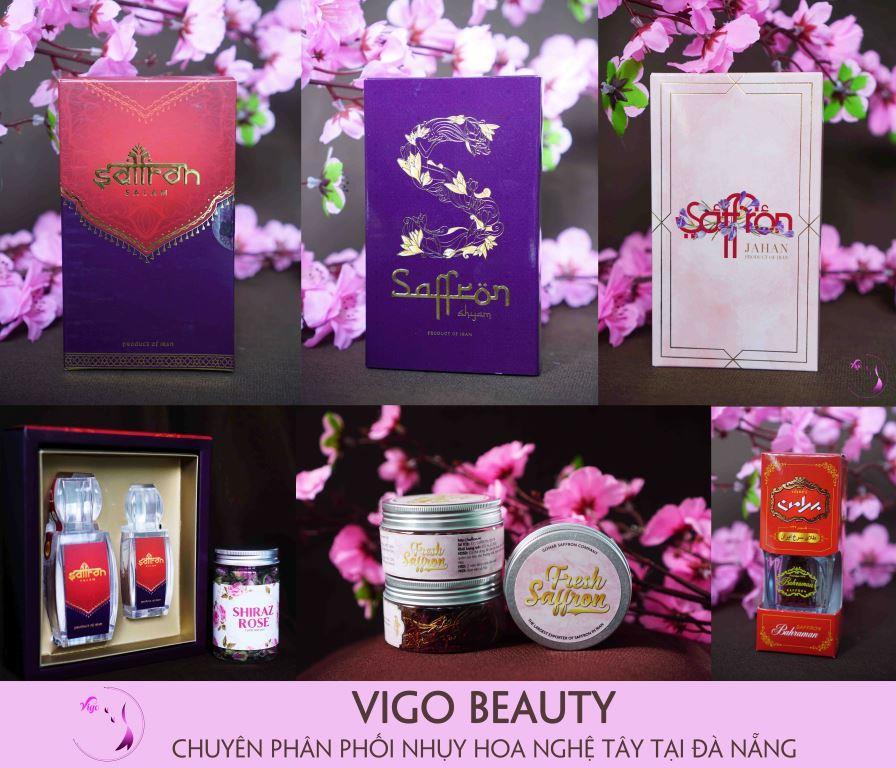 Các sản phẩm Nhụy hoa nghệ tây chính hãng tại thị trường Việt Nam