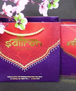 Túi quà tặng saffron cao cấp