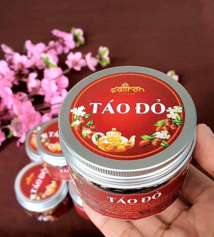 Tảo đỏ - 1 trong những món quà tặng kèm khi mua saffron (nhụy hoa nghệ tây) tại Vigo Beauty shop