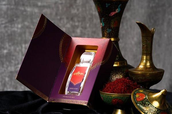 Saffron Salam được đóng gói cẩn thận, bao bì sang trọng, thiết kế tinh tế